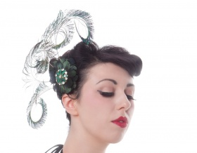 Virtue Hair Clip Fascinator